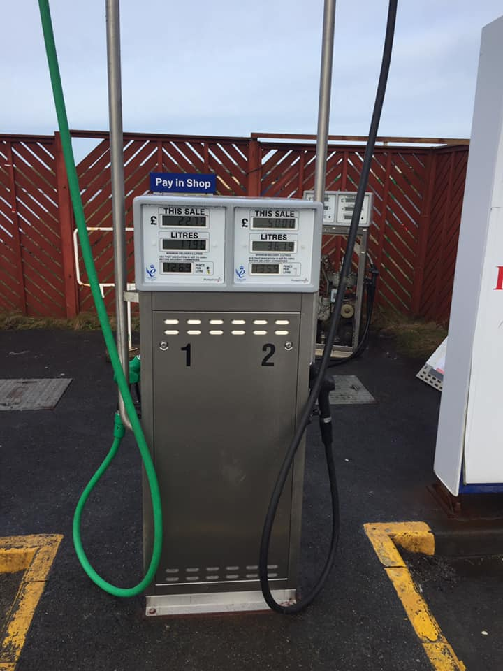 Our new 24/7 petrol pump